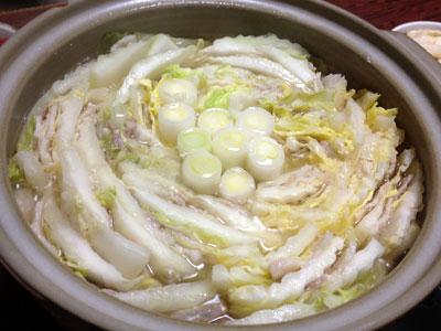 白菜と豚バラの重ね鍋