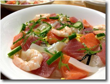 海鮮生ちらし寿司
