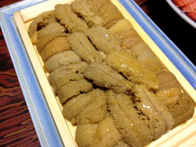 小樽産キタムラサキウニ1