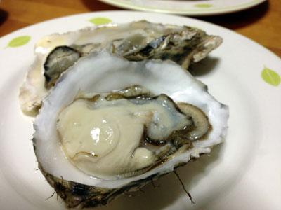 殻付き生牡蠣2