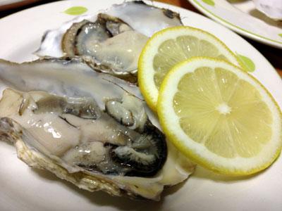 殻付き生牡蠣3