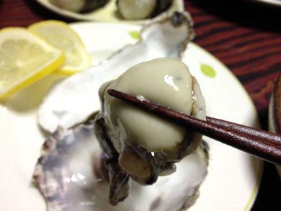 殻付き生牡蠣4