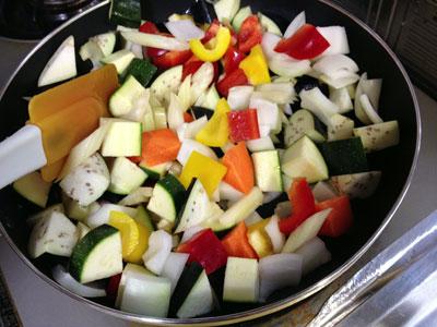 夏野菜のトマト煮込み(ラタトゥイユ)2