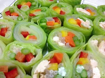 野菜のキャベツ巻き2