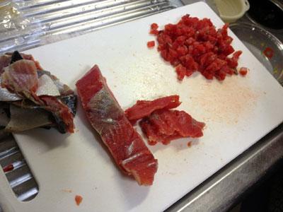 笹寿司用鮭