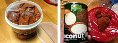 レッドカレーペースト&ココナツミルク