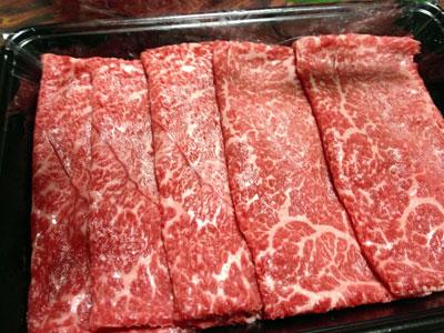 すき焼き用松阪牛