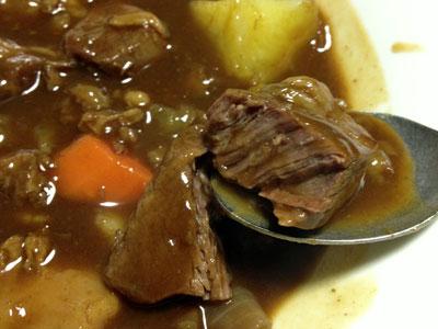 牛スジと牛スネ肉のシチュー3