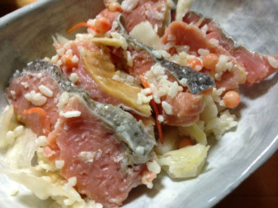 鮭の飯寿司(イズシ)