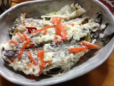 ハタハタの飯寿司(イズシ)