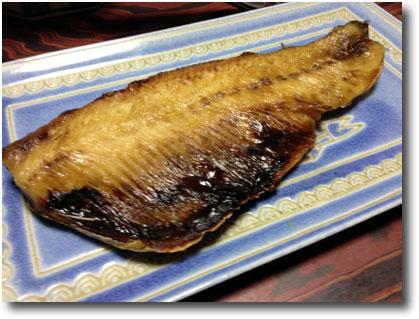 生干しの身欠きニシンの焼き魚