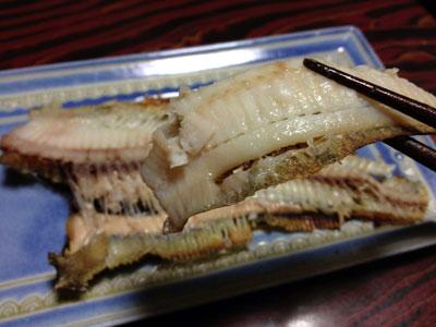 干しナメタの焼き魚img