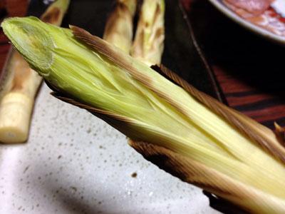 焼きタケノコ(細タケ)4