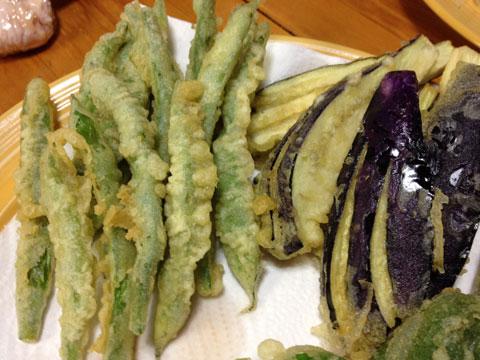 野菜の天ぷら1