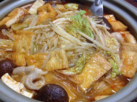 キムチ鍋4