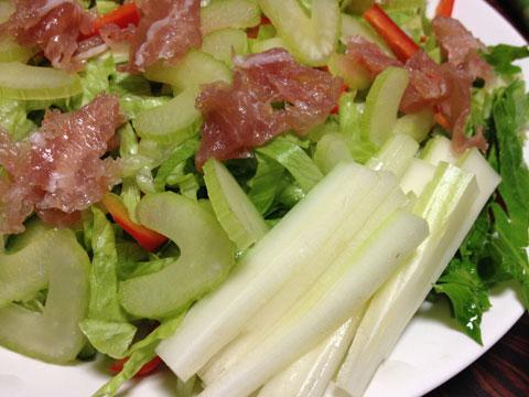 セロリのサラダ1