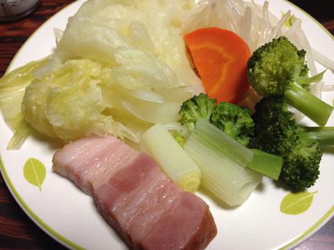 蒸し温野菜300