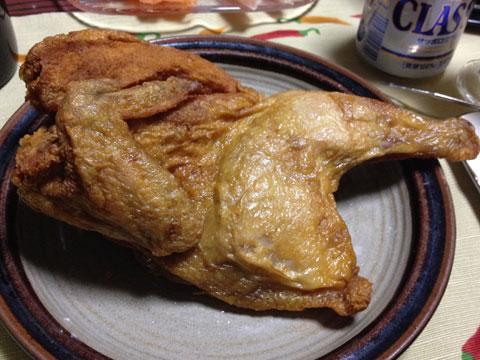 なるとの若鶏半身揚げ
