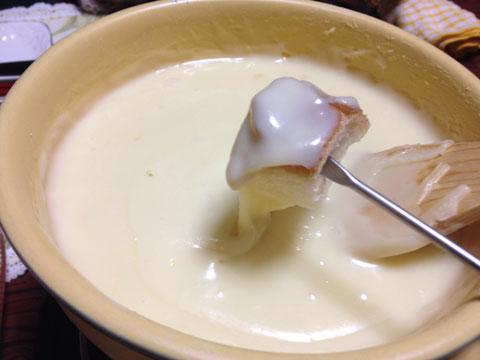チーズフィンデュ1