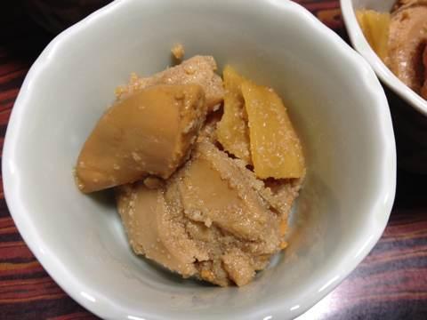 ホタテの卵(ホタテの子)の煮付け1