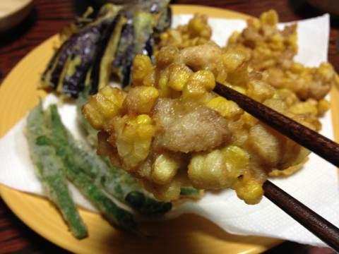 トウキビと鶏肉のかき揚げimg1