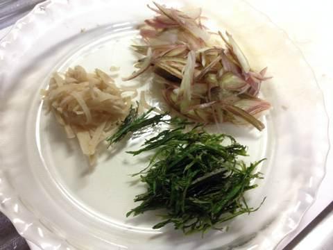 サンマの蒲焼きで混ぜご飯調理中5