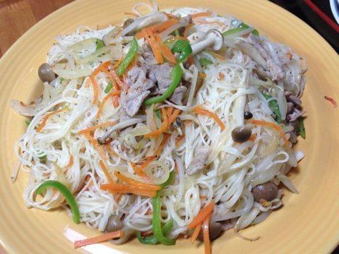 素麺チャンプルー1