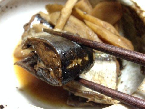 サンマの黒酢煮img