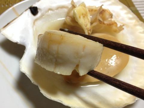 殻付き大粒ホタテ焼き3