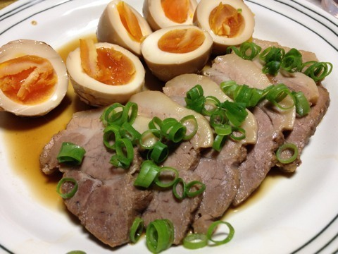 残ったピクルス液の再利用→酢鶏→煮豚4