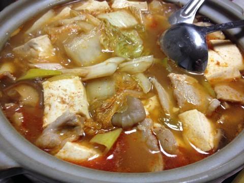 鍋の季節〜キムチ鍋