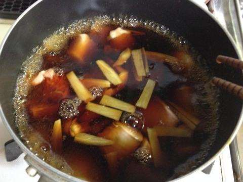 鮭の白子の醤油煮2