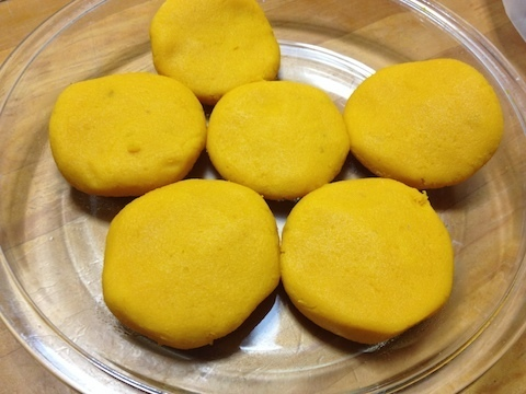 カボチャ餅5