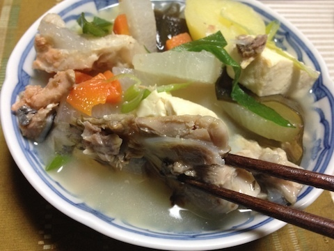 鮭の三平汁2