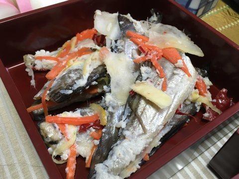 ハタハタの飯寿司
