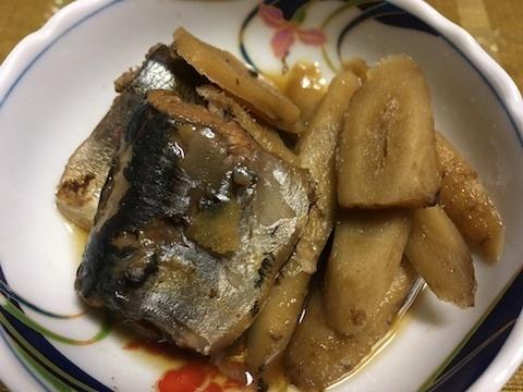 冷凍サンマで黒酢煮と梅シソ巻き