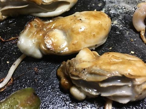 海鮮焼き(牡蠣1)