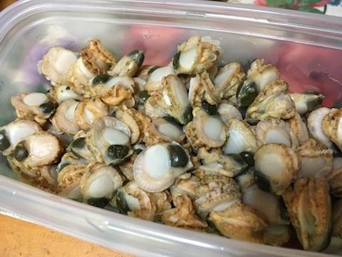 ホタテの稚貝の炊き込みご飯3