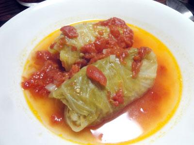 ロールキャベツ(トマト味)2