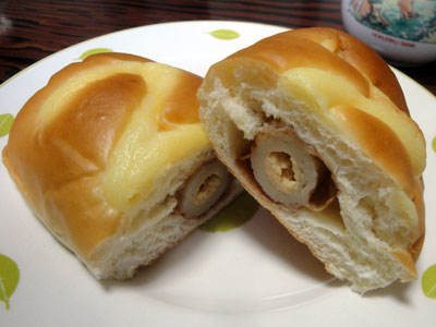 ロバパンのちくわパン3