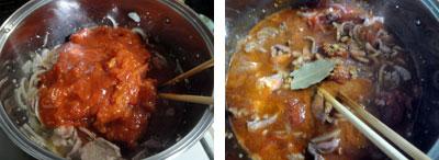 ラム肉と豆のトマト煮3
