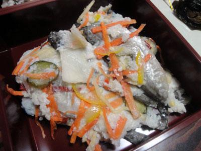 ハタハタの飯寿司1