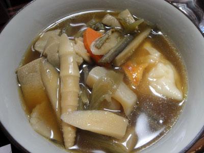 くじら汁(けんちん汁)3