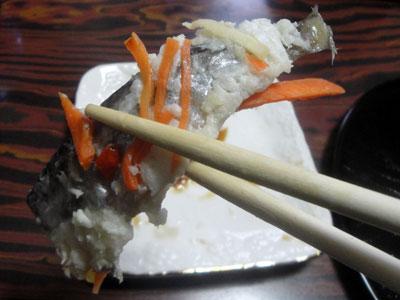 ハタハタの飯寿司2