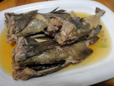 ガヤ(エゾメバル)の煮付け1