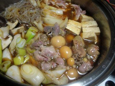 鶏すき焼1