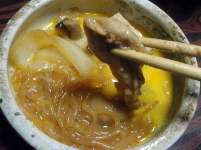 鶏すき焼4