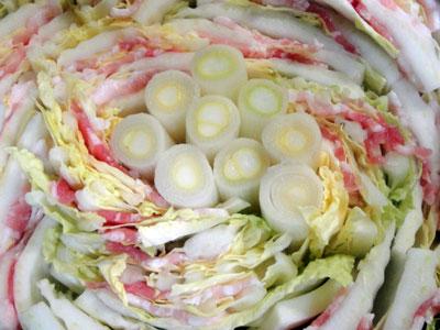 白菜と豚バラの重ね鍋3