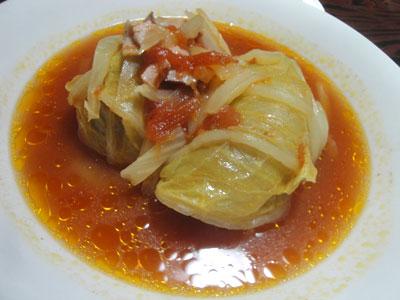 ロール白菜(トマト味)