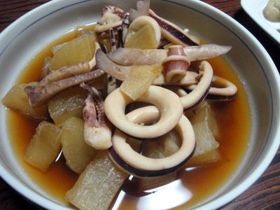 イカと大根の煮物1